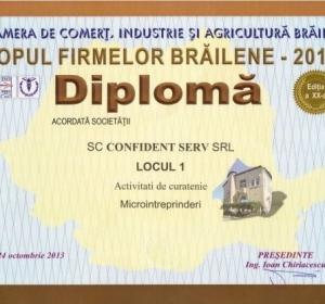 Confident Serv S.R.L. - Firma Curatenie Braila